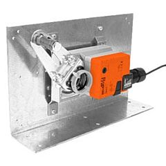 Damper Actuator Mounting Bracket