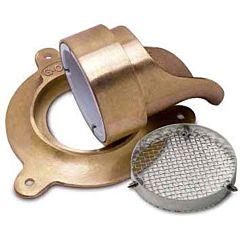 Drain Pipe Glue-On-Nozzle Escutcheon