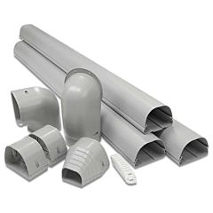 Line Set Cover Wall Duct Kit