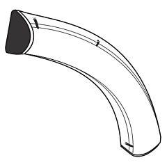 Line Set Duct Elbow