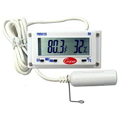 Digital Temperature and Humidity Panel Thermometer