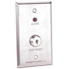 Duct Smoke Detector Remote Alarm and Key