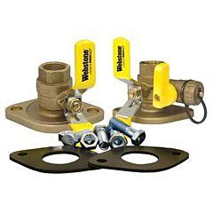 Nibco Inc Circulator Pump Installation Kit 1 1/4 IPS ISOLATOR W/ROTATING FLANGE INSTALL KIT