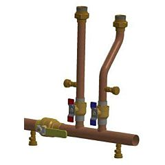 Combination Boiler Primary/Secondary Manifold Kit